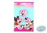 Pin's, Mickey Mouse : 5 badges de Minnie, Disney
