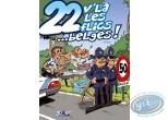 BD occasion, 22 V'la les Flics : 22 V'là les flics... belges !