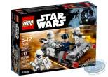 Jouet, Star Wars : Pack de combat le speeder de transport du premier ordre