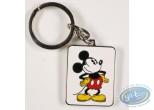 Porte-clé métal, Mickey Mouse : Mickey Looking away ( bas relief), Disney