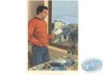 Ex-libris Offset, Serpent sous la Glace (Le) : Homme à la fenêtre