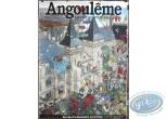 Affiche Offset, Darrow : Angoulême la ville qui vit en ses images