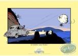 Affiche Sérigraphie, Spirou et Fantasio : La Mauvaise Tête