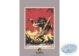 Affiche Sérigraphie, Tarzan : Edgar Rice Burroughs, Tarzan contre le lion