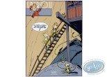 Affiche Sérigraphie, Spirou et Fantasio : Prisonnier du Boudha (en)
