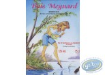 Etiquette de Vin, Pin-Up : Le lac - Bois Meynard