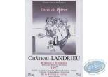 Etiquette de Vin, Le Patron - Chateau Landrieu