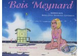 Etiquette de Vin, Pin-Up : The Beach - Bois Meynard
