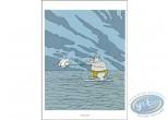 Affiche Offset, Chat (Le) : Ski nautique