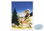 Affiche Offset, Double M : Mirabelle dans les alpages