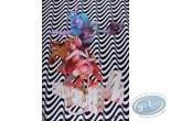Affiche Offset, Sky Doll : Ondulations zébrées