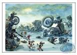 Affiche Offset, Pacush Blues - Les rats : Casse moto