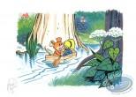 Ex-libris Offset, Sibylline : Sibylline & Taboum on the river