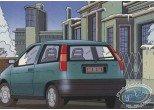 Carte postale, Carte publicitaire, Fiat Punto par Goffin