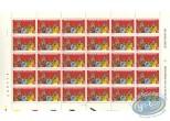 Timbre, Sammy : Planche de 30 timbres, Sammy