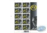Timbre, Blake et Mortimer : Planche de 10 timbres, Blake et Mortimer