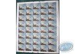Timbre, Cités Obscures (Les) : 40 stamps sheet naviguation spatiale