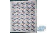 Timbre, Natacha : Walthéry, Natacha: Planche de 40 timbres