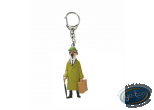 Porte-clé PVC, Tintin : Tournesol Valise