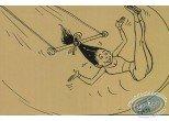 Carte postale, Les étoiles du cirque - Les trapézistes
