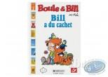 Album + timbres, Boule et Bill : Bill à du cachet