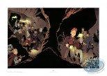Affiche Offset, Spirou et Fantasio : Les Marais du Temps