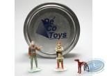 Figurine métal, Neige : Mini Neige (3 figurines )
