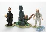 Figurine métal, Théodore Poussin : Mini Poussin et Mr Novembre (sans boite)
