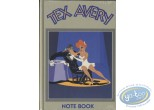 Carnet de notes, Félix le Chat : Note Book, Tex Avery : Le Loup et La Girl (vert olive)