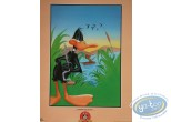 Affiche Offset, Daffy Duck : La chasse au canard