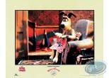 Affiche Offset, Wallace et Gromit : Gromit fauteuil