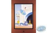 Affiche Offset, Tom et Jerry : Le vase
