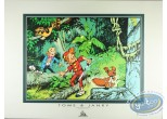 Affiche Offset, Spirou et Fantasio : Jungle