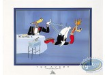 Affiche Offset, Droopy : The Wolf at the restaurant