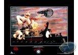 Affiche Offset, Wallace et Gromit : Le train