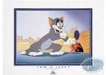 Affiche Offset, Tom et Jerry : La ventouse
