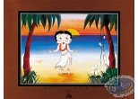 Affiche Offset, Betty Boop : Vahiné