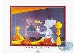 Affiche Offset, Tom et Jerry : Le feu de cheminée