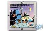 Horlogerie, Schtroumpfs (Les) : Clock, The Smurf : night