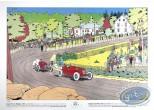 Affiche Offset, Grand Prix de Belgique 1933