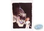 Affiche Offset, Feux : Dinosaure