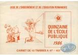 Timbre, Lucky Luke : Carnet de 10 timbres