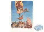 Ex-libris Offset, Jérome Moucherot : la vache funambule