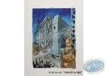 Originaux, Paquebot des Sables (Le) : Projet de couverture