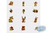 Pin's, Yakari : Série de 12 pin's - Version dorée - Edition limitée