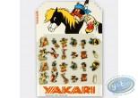 Pin's, Yakari : Présentoir avec 2 séries complètes de 12 pin's