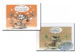 Ex-libris Offset, Pacush Blues - Les rats : Tu veux une taffe ? (Puzzle)