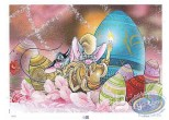 Affiche Offset, Souris de Pâques (Les) : Les souris de Pâques