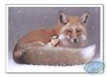 Affiche Offset, Féerie : Elfe endormie et renard