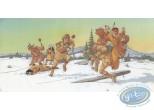 Jaquette, Plume aux Vents : Combat dans la neige